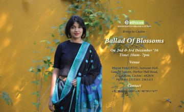 Ballad of blossoms- Cotton Sarees Exhibition