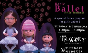 Basic Ballet for Girls under 6 years