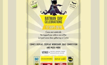 Batman Day Celebrations at Chai Cofi