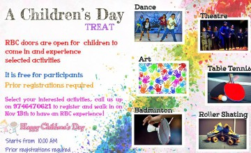 Childrens Day Treat at River Bourne Centre