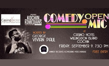 Comedy Open MIC by Kochin Komedians‎