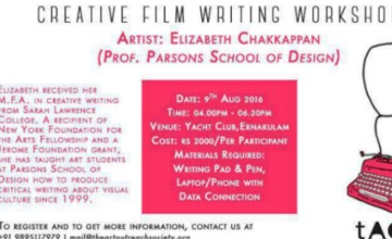 Creative Film Writing Workshop