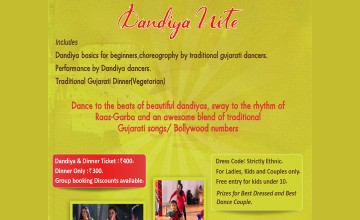 Dandiya Nite - Dinner & Dance