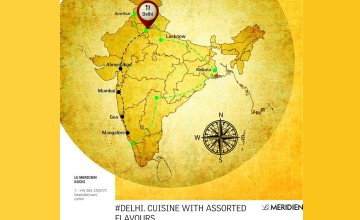 Delhi Cuisine with Assorted Flavours