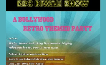 Diwali with a Retro Themed Party at RBC