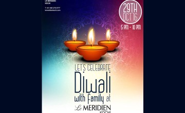 Diwali Celebrations at Le Méridien Kochi