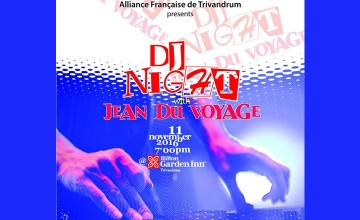 DJ Night with Jean Du Voyage