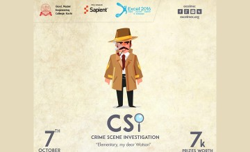 CSI-Crime Scene Investigation by Excel 2016