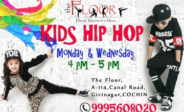 Exclusive HipHop batch for kids -Admissions Open