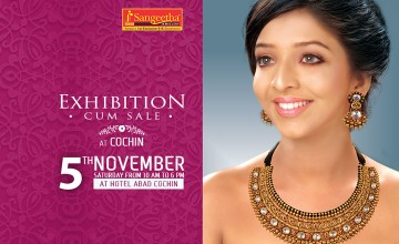 Exhibition & Sale at Cochin by Sangeetha Jewellery