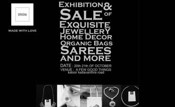 Exhibition and Sale by Sanchi
