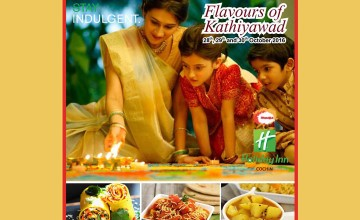 Flavours of Kathiyawad at Holiday Inn