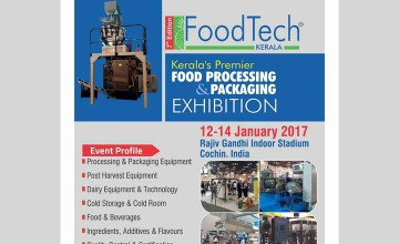 Foodtech 2017 Kerala-Trade exhibition