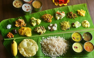 Grand Onam Sadya at Le Meridien