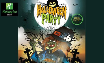 Halloween Party at Holiday Inn Cochin