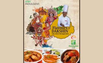 Flavours of Dakshin at HolidayInn