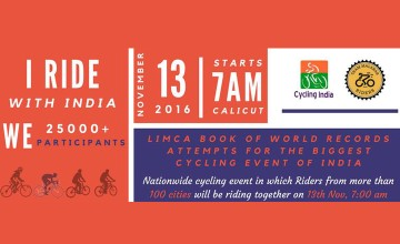 I Ride With India 2016 Calicut