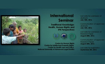 International Seminar on Traditional Knowledge