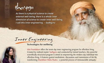 Isha Yoga- Inner Engineering Program