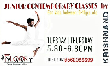 Junior Contemporary classes by Krishnanand