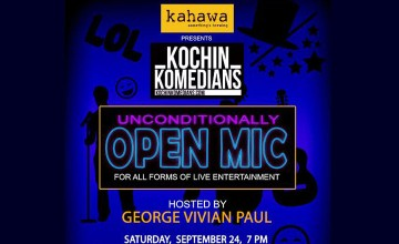 Kahawa Presents Kochin Komedians' Unconditionally Open Mic