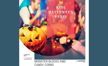 Monster Blocks And Candy Corns- Kids Halloween Party