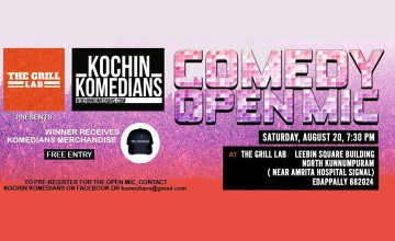 Kochin Komedians at The Grill Lab