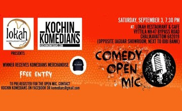 Lokah presents Kochin Komedians Open Mic
