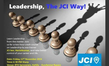 Learn Leadership by JCI Cochin
