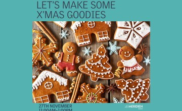 Lets make some X'Mas Goodies- Cooking Workshop