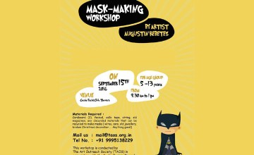 Mask Making workshop