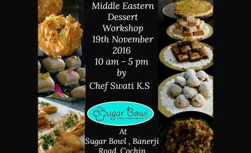 Middle Eastern Dessert Workshop