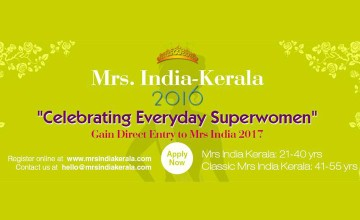 Mrs India-Kerala 2016