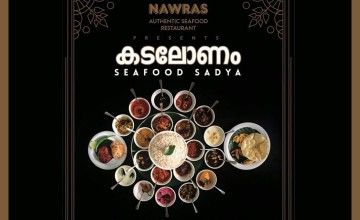 'Kadalonam'-Sea food Sadya by Nawras
