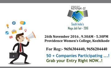 Niyoga - South India's Job Fair 2016