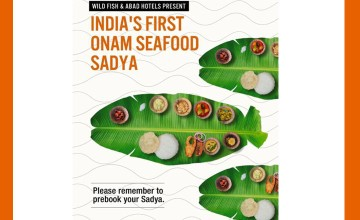 Onam Seafood Sadya at Abad Plaza