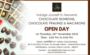 Open Day - Workshop on Chocolate Making