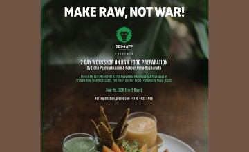 Raw Food Preparation- Workshop