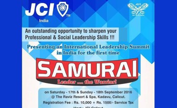 Samurai 2016-JCI International Leadership Summit