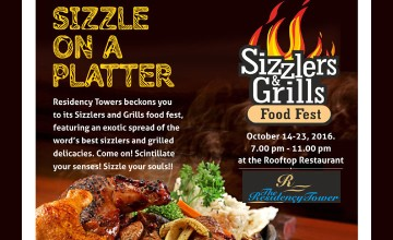 Sizzlers & Grills Food Fest