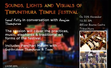 Sound box event- Sights, Lights & Visuals of Tripunithura Temple Festival