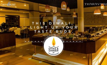 Special Diwali Dinner at Hotel Casino