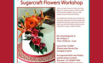 Sugarcraft Flowers Workshop