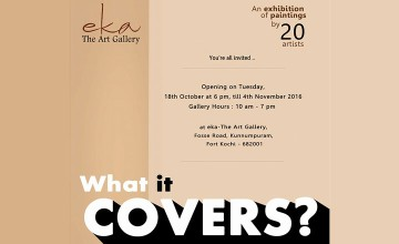 What it Covers - Exhibition of Paintings