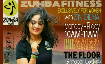 Zumba Fitness at The Floor